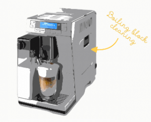 Cleaning coffee machine. The Coffee Mate