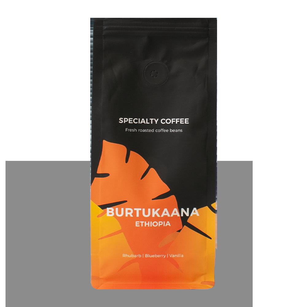 "Specialty coffee beans ""Ethiopia Burtukaana"", 250 g"