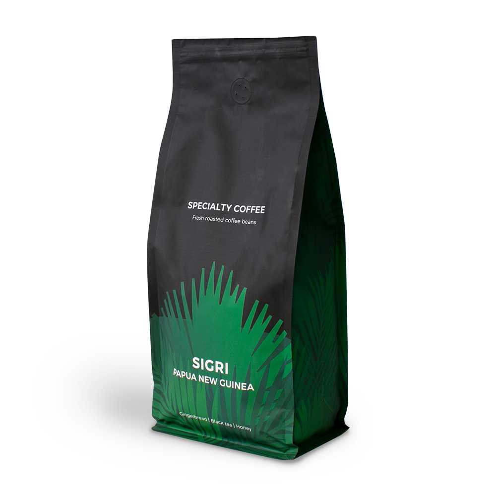 """Specialty coffee beans """"Papua New Guinea Sigri"""", 1 kg"""