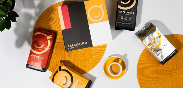 "Coffee beans set ""Caprissimo Box"""