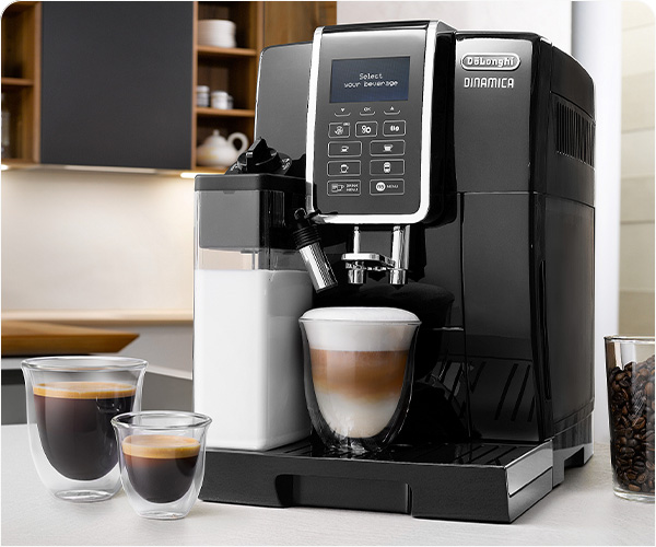 10 coffee beverages with the touch of a button