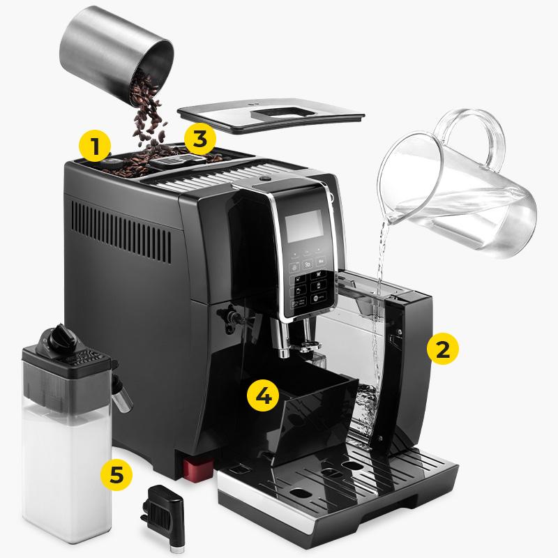 "Coffee machine De'Longhi ""Dinamica ECAM 350.55.B"""