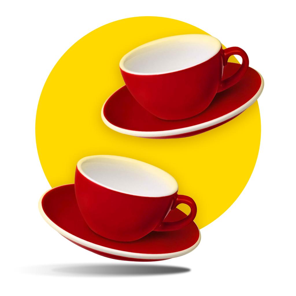 Loveramics 200 ml cups 3+1