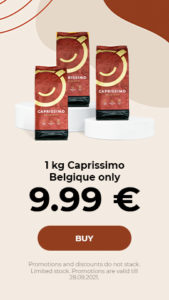 1 kg Caprissimo Belgique only 9.99 €