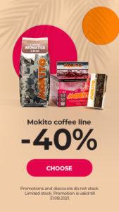 Mokito coffee line -40%