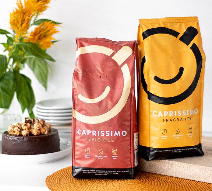 Caprissimo coffee beans 1+1
