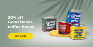 Good Beans coffee beans -20%