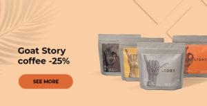 Goat Story coffee -25%