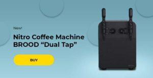 "Nitro Coffee Machine BROOD ""Dual Tap"""