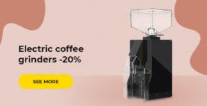 Electric coffee grinders -20%