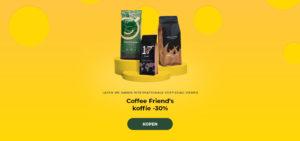 Coffee Friend's koffie -30%
