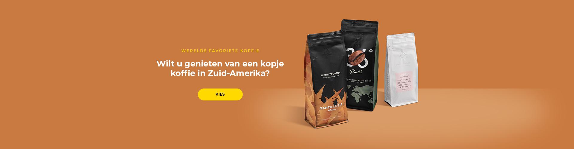 Zuid-Amerikaanse koffie