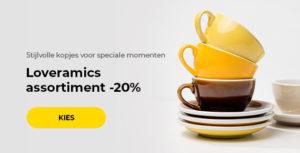 Loveramics assortiment -20%