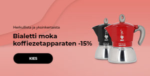 Bialetti moka koffiezetapparaten -15%