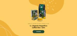 C. Liégeois Magnifico coffee line -40%