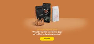 South American coffee